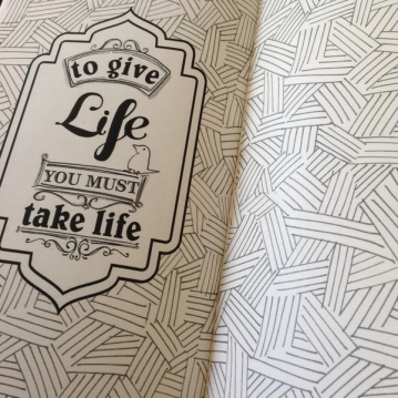 Handmade patterns and type