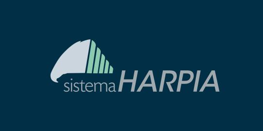 Logo over standard background